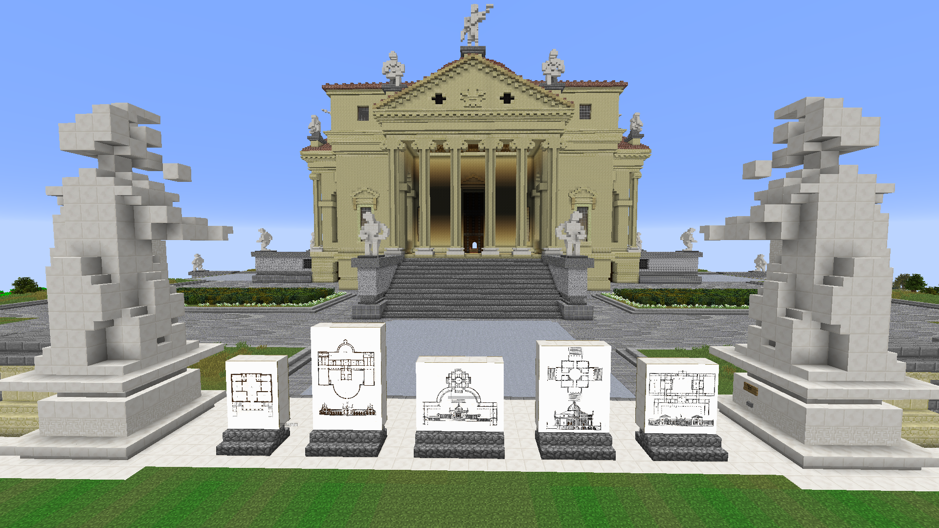 ARCHITECTURAL MINECRAFT - THE 'PALLADIAN TOOL