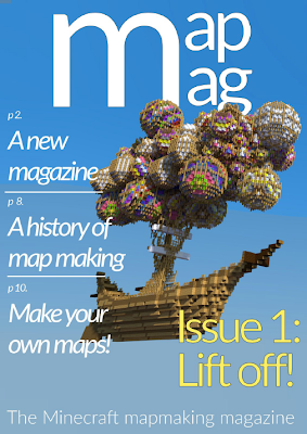 MapMag is a Map Making Magazine for Minecraft Map Makers