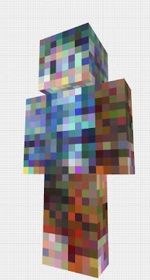Machine learning applied to Minecraft skins
